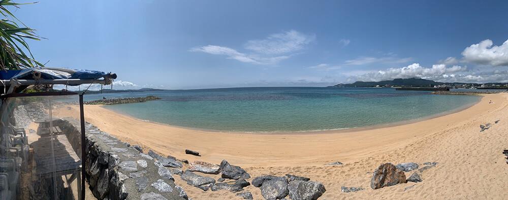 沖縄のビーチの写真